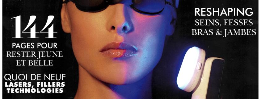 couverture magazine l'Officiel spéciale chirurgie esthétique
