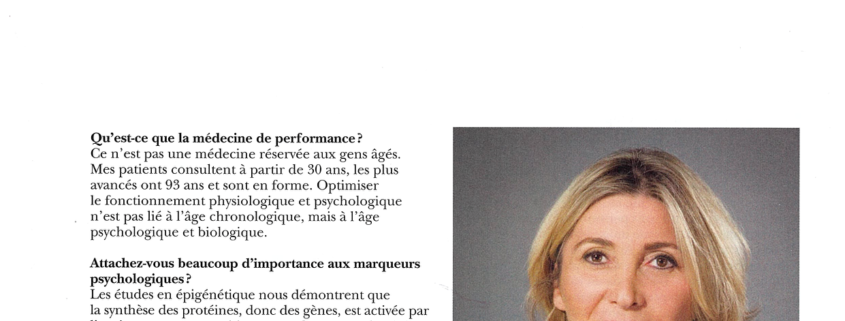 Médecine de performance interview