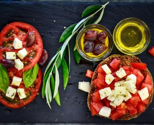 alimentation tomates olives